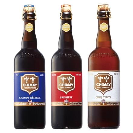 比利时进口智美啤酒组合750ml*3