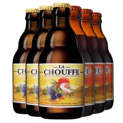 比利时进口舒弗啤酒麦克舒弗330ml*6
