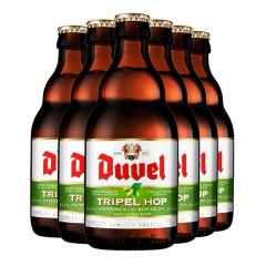 比利时进口督威三花啤酒(Duvel tripel hop)330ml*6