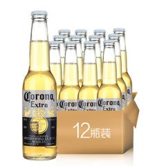 墨西哥风味啤酒CORONA科罗娜啤酒330ml(12瓶装)