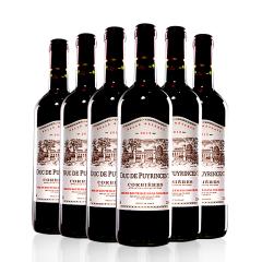 法国普利圣公爵干红葡萄酒 750ml*6瓶