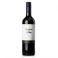 13.5智利干露红魔鬼梅洛红葡萄酒750ml