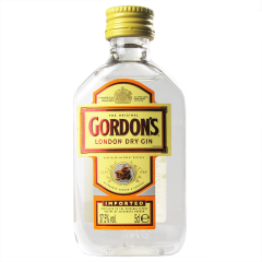 43°哥顿金酒小酒版50ml
