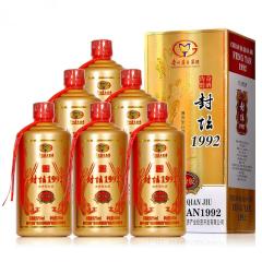 52°贵州茅台集团封坛1992铂金版500ml(六瓶)