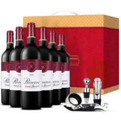 法国拉菲珍藏波尔多干红葡萄酒750ml*6(ASC正品行货) 整箱装