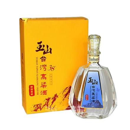 【京东配送】38°玉山高粱酒精选窖藏600ml