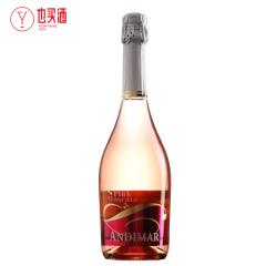 爱之湾桃红莫斯卡托甜起泡酒750ml