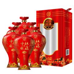 52°中国杜康精制中国红500ml(6瓶装)