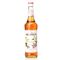莫林MONIN接骨木花味糖浆(调酒必备)700ml