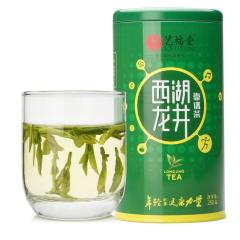 艺福堂茶叶【绿茶 西湖龙井 】老茶客推荐 高性价雨前靠谱茶250g/罐