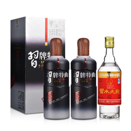 52°习牌特曲丙申年纪念版 500ml(双瓶装)+52°习酒习水大曲500ml