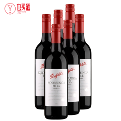 奔富寇兰山西拉红葡萄酒750ml 6支装