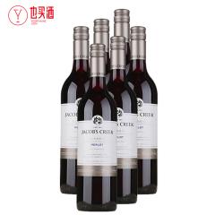杰卡斯梅洛红葡萄酒750ml  6支装