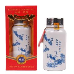 52°观品酒百年老窖酒白色浓香型白酒600ml