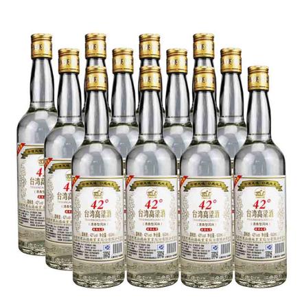 42°台湾阿里山高粱酒600ml(12瓶装)