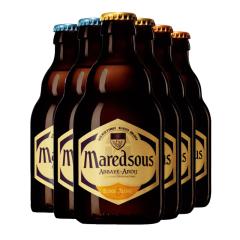 比利时进口 Maredsous马杜斯马里斯6号8号10号修道院啤酒330ml*6