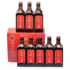 绍兴黄酒会稽山纯正五年陈绍兴花雕酒 整箱礼盒500mlx8瓶装