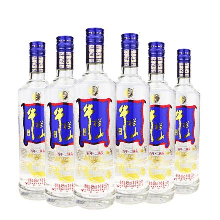 45°牛栏山二锅头特酿550ml(6瓶装)