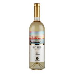 黄金鲟摩尔多瓦远洋灰皮诺白葡萄酒750ml