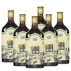 绍兴黄酒十年陈咸亨老酒黑标整箱 500mlx6瓶 半甜风味