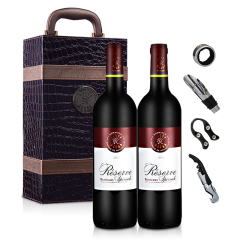 法国拉菲珍藏波尔多法定产区红葡萄酒(ASC正品行货双支礼盒)