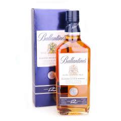 英国进口洋酒 Ballentine's百龄坛年苏格兰威士忌 百龄坛12年 700ML