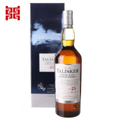 45.8°英国泰斯卡25年单一麦芽苏格兰威士忌