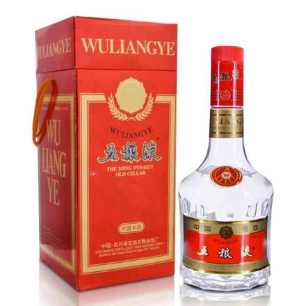 【老酒特卖】52°五粮液(红方盒)500ml(2001-2004年)
