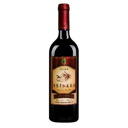 绿川康源洋葱经典玫瑰红干红葡萄酒375ml