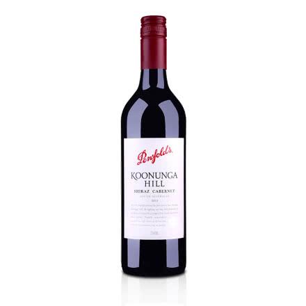 澳大利亚红酒奔富寇兰山赤霞珠西拉红葡萄酒750ml(又名:西拉卡本内)