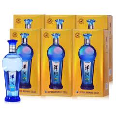 42°洋河 蔚蓝星空金版 白酒 480ml(6瓶装)