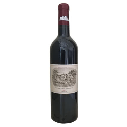 (列级庄·名庄·正牌)法国拉菲酒庄2007干红葡萄酒750ml(又译大拉菲、拉菲城堡)