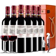 路易拉菲2009珍酿原酒进口红酒王子干红葡萄酒红酒整箱木箱装750ml*6