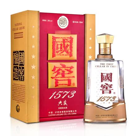 【礼酒特卖】39°国窖1573典藏 500ml (2015年)
