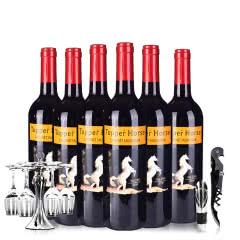 澳大利亚原瓶原装进口百乐马赤霞珠干红葡萄酒整箱装750ml*6