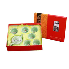 金镶玉 功夫茶具(7件套)礼盒装