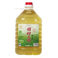 【手工米酒】12°固村三甲糯米酒(半甜黄酒二级)佳品5000ml