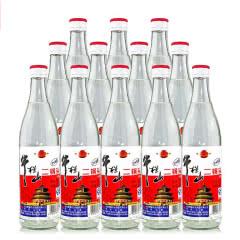 65°牛栏山二锅头白瓶高度白酒500ml(12瓶装)