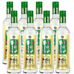 42°百年牛栏山二锅头珍品陈酿20土豪金 500ml(8瓶装)白酒整箱