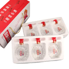 52°泸州原浆浓香型白酒礼盒装248ml(6瓶装)
