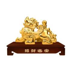 【礼酒特卖】53°汾酒集团招财貔貅(金)2000ml