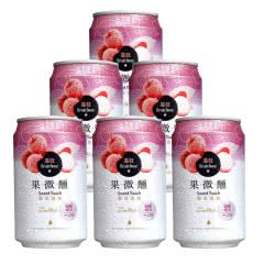 金牌 台湾啤酒荔枝味果啤330ml(6听装)
