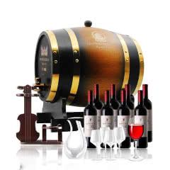 法国欧斯特橡木桶葡萄酒套组8L
