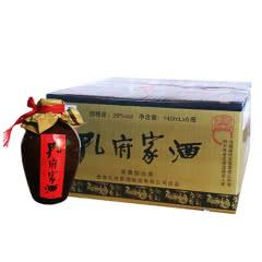 39°孔府家酒 彩箱大陶酒 山东特产 浓香型白酒整箱140ml (6瓶装)
