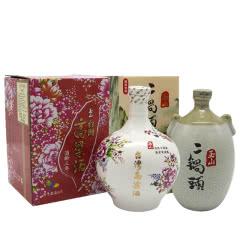 台湾玉山高粱酒客家花布二锅头组合