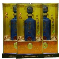 45°西凤酒金藏10年整箱装(500ML*6瓶)