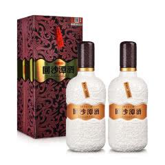 【精选礼酒】38° 回沙潭酒 固态纯粮 酱香型白酒 500ml*2礼盒装