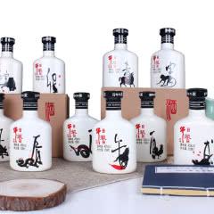 45°牛栏山百年牛浆十二生肖白酒浓香型169ml(12瓶)