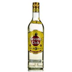 40°古巴Havana Club 3yo哈瓦那俱乐部朗姆酒3年750mL
