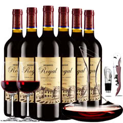 拉斐皇家窖藏2006干红葡萄酒原酒进口红酒整箱醒酒器装750ml*6